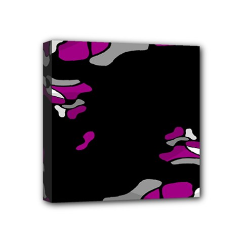 Magenta Creativity  Mini Canvas 4  X 4  by Valentinaart
