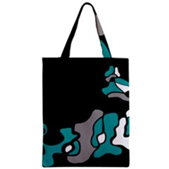 Cyan Creativity 2 Classic Tote Bag by Valentinaart