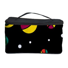 Colorful Dots Cosmetic Storage Case by Valentinaart