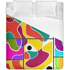 Colorful Windows  Duvet Cover (california King Size)