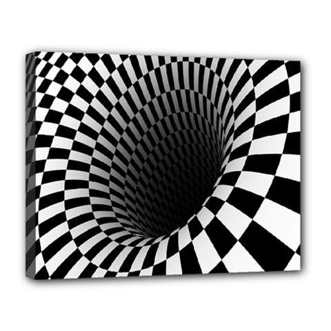 Optical Illusions Canvas 14  X 11