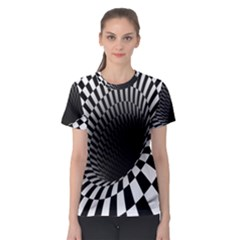 Optical Illusions Women s Sport Mesh Tee