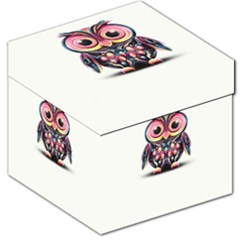 Owl Colorful Storage Stool 12