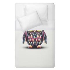 Owl Colorful Duvet Cover (single Size)
