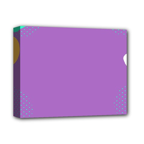Purple Deluxe Canvas 14  X 11  by AnjaniArt