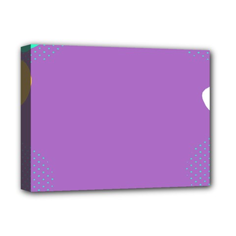 Purple Deluxe Canvas 16  X 12   by AnjaniArt