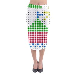 Ship Midi Pencil Skirt