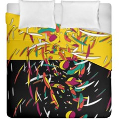 Little Things 2 Duvet Cover Double Side (king Size) by Valentinaart