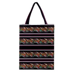 Colorful Barbwire Classic Tote Bag by Valentinaart