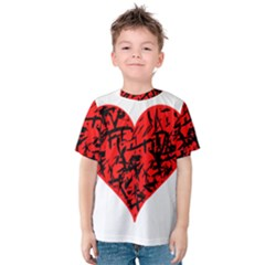 Valentine Hart Kids  Cotton Tee