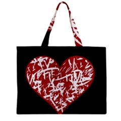 Valentine s Day Design Zipper Mini Tote Bag