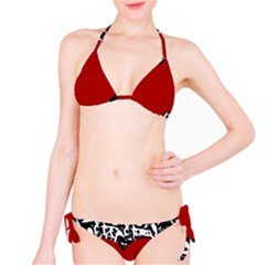 Red Valentine Bikini Set by Valentinaart