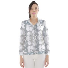 Light Circles, Watercolor Art Painting Wind Breaker (women) by picsaspassion