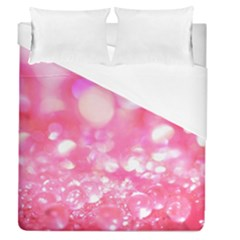 Pink Diamond  Duvet Cover (queen Size) by Brittlevirginclothing
