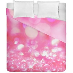 Pink Diamond  Duvet Cover Double Side (california King Size) by Brittlevirginclothing