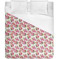 Gorgeous Pink Flower Pattern Duvet Cover (california King Size) by Brittlevirginclothing