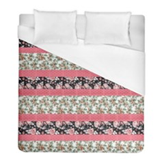 Cute Flower Pattern Duvet Cover (full/ Double Size) by Brittlevirginclothing