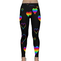 Rainbow Harts Classic Yoga Leggings