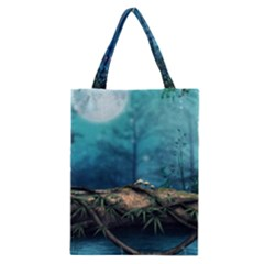Mysterious Fantasy Nature Classic Tote Bag