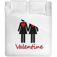 Be My Valentine 2 Duvet Cover (california King Size) by Valentinaart