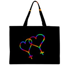 Love Is Love Medium Tote Bag by Valentinaart