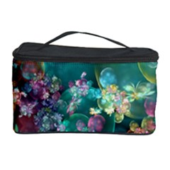 Butterflies, Bubbles, And Flowers Cosmetic Storage Case