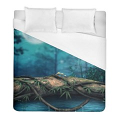 Fantasy Nature  Duvet Cover (full/ Double Size) by Brittlevirginclothing