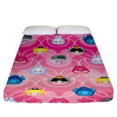 Alice In Wonderland Fitted Sheet (king Size) by reddyedesign