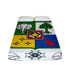 Coat Of Arms Of The Central African Republic Fitted Sheet (full/ Double Size) by abbeyz71