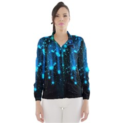 Abstract Stars Falling Wallpapers Hd Wind Breaker (women)