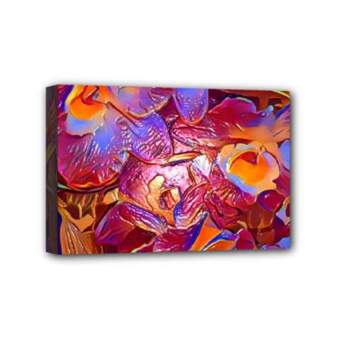 Floral Artstudio 1216 Plastic Flowers Mini Canvas 6  X 4