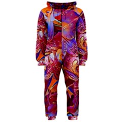 Floral Artstudio 1216 Plastic Flowers Hooded Jumpsuit (ladies)