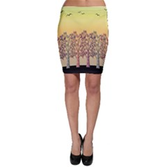 Magical Sunset Bodycon Skirt by Valentinaart