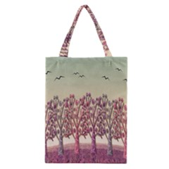 Magical Landscape Classic Tote Bag by Valentinaart