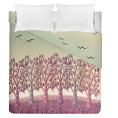 Magical Landscape Duvet Cover Double Side (queen Size) by Valentinaart