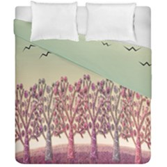 Magical Landscape Duvet Cover Double Side (california King Size) by Valentinaart