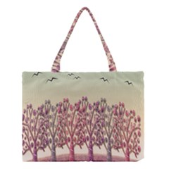 Magical Landscape Medium Tote Bag by Valentinaart