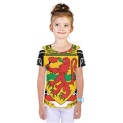 Coat Of Arms Of The Republic Of The Congo Kids  One Piece Tee