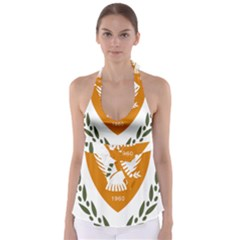 Coat Of Arms Of Cyprus Babydoll Tankini Top