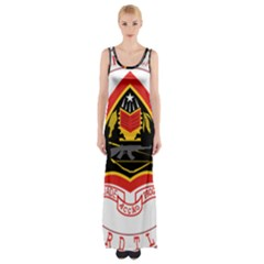 Coat Of Arms Of East Timor Maxi Thigh Split Dress by abbeyz71