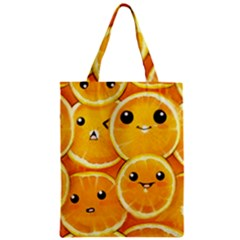 Cute Orange  Classic Tote Bag by Brittlevirginclothing