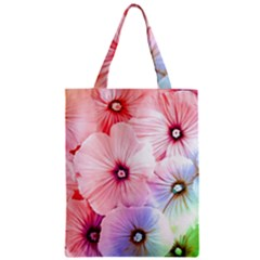 Rainbow Flower Classic Tote Bag by Brittlevirginclothing