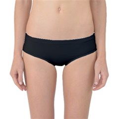Simple Red And Black Desgin Classic Bikini Bottoms