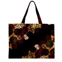 Autumn Bubbles Zipper Mini Tote Bag by Valentinaart
