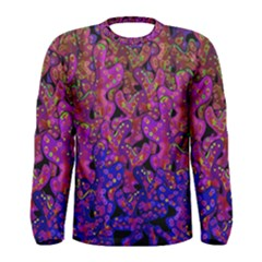 Purple Corals Men s Long Sleeve Tee by Valentinaart