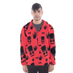 Gentlemen   Red Hooded Wind Breaker (men)