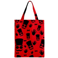 Gentlemen   Red Zipper Classic Tote Bag