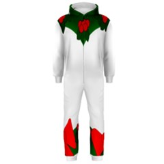 Holiday Wreath Hooded Jumpsuit (men)