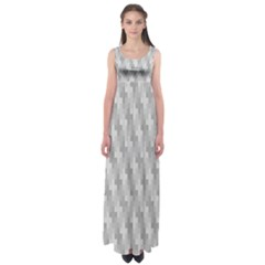 Abstract Pattern Empire Waist Maxi Dress by AnjaniArt