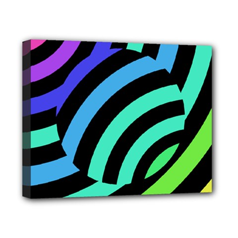 Colorful Roulette Ball Canvas 10  X 8